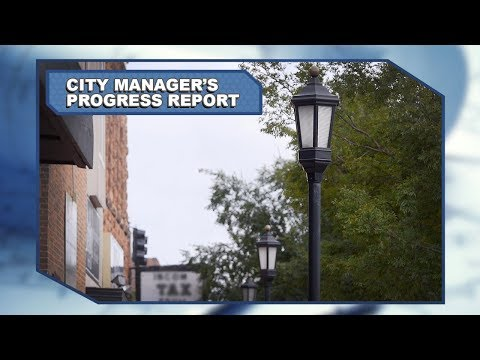 City Manager's Progress Report: April/May 2018