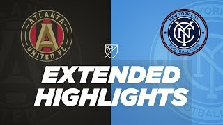 ATL's Ezequiel Barco MLS debut, NYCFC's David Villa back from injury | Extended Highlights