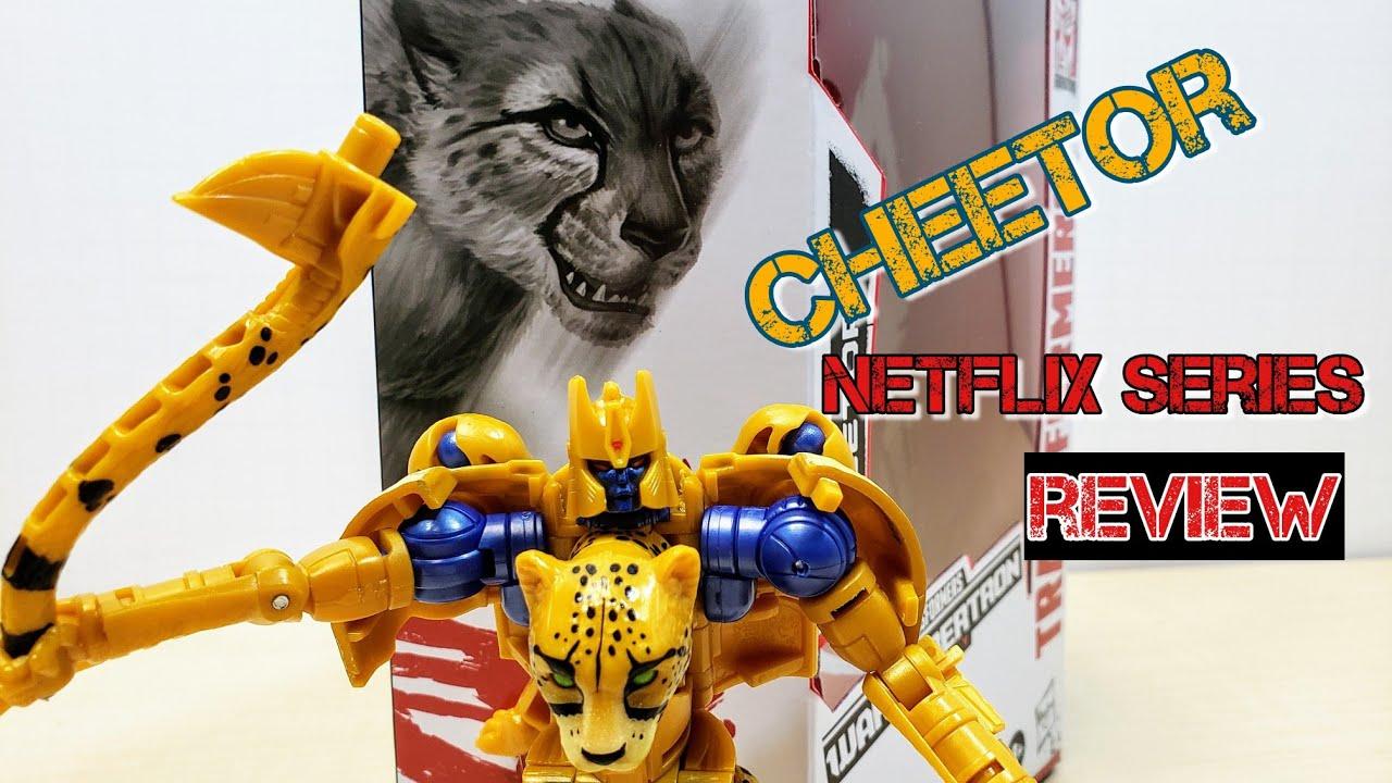 Netflix Deluxe Class Cheetor by DarkNight Reviews