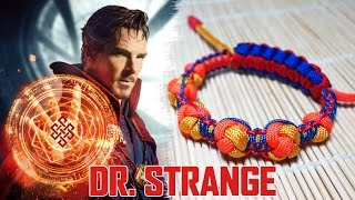 How To Make the Dr. Strange Shamballa Paracord  Bracelet Tutorial