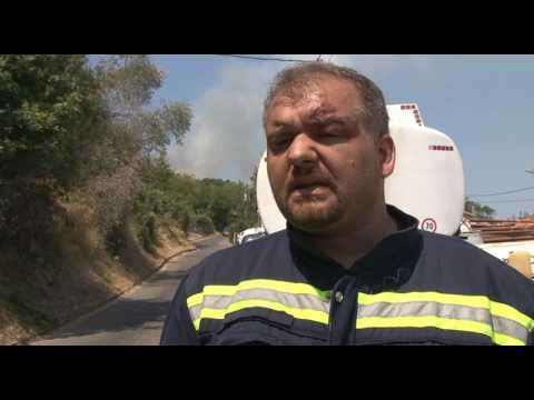 Požar na Luštici - Nikola Urdešić sveštenik Luštički i član DVD Krtoli o akcijama