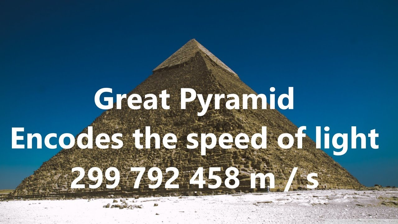 Great Pyramid Encodes Speed of Light & 12 Zodiacal Ages of Grand Procession  of Earth - YouTube