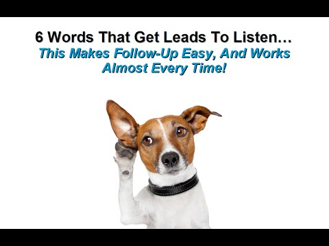 Mortgage Marketing Hacks - How To Follow-Up With Leads