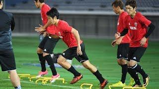 【キリンチャレンジカップ2017】10/8 香川真司「皆で共通意識を持ちながらトライできるような試合にしたい」