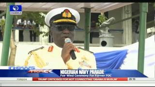 Nigerian Navy Parade: Fair Wind Ceremony For Former FOC 190915