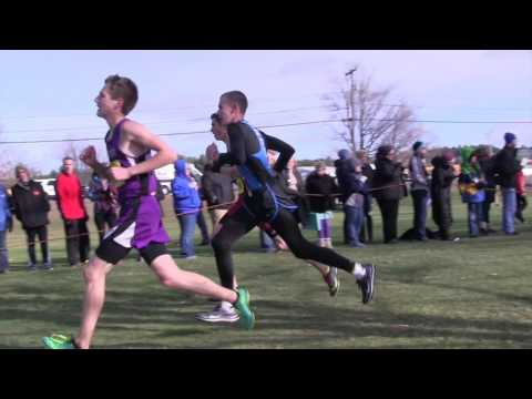 2015 THS x-country highlight