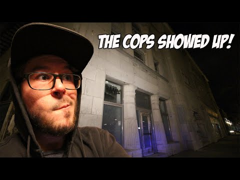 THE COPS SHOWED UP WHILE EXPLORING ABANDONED THEATER