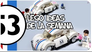 LEGO Ideas of the Week: HERBIE the LOVE BUG