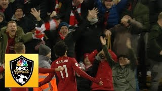 Mohamed Salah makes it 2-0 to Liverpool against Manchester City  Premier League  NBC Sports