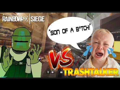 1v1 Against Trashtalker! - Rainbow Six Siege