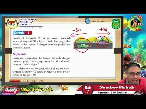 Matematik KSSM Tingkatan 1 - Nombor Nisbah [Part 1]