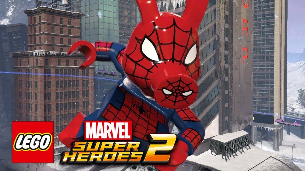 Marvel Super Heroes 60 Superhéroes: LEGO Marvel Super Heroes 2