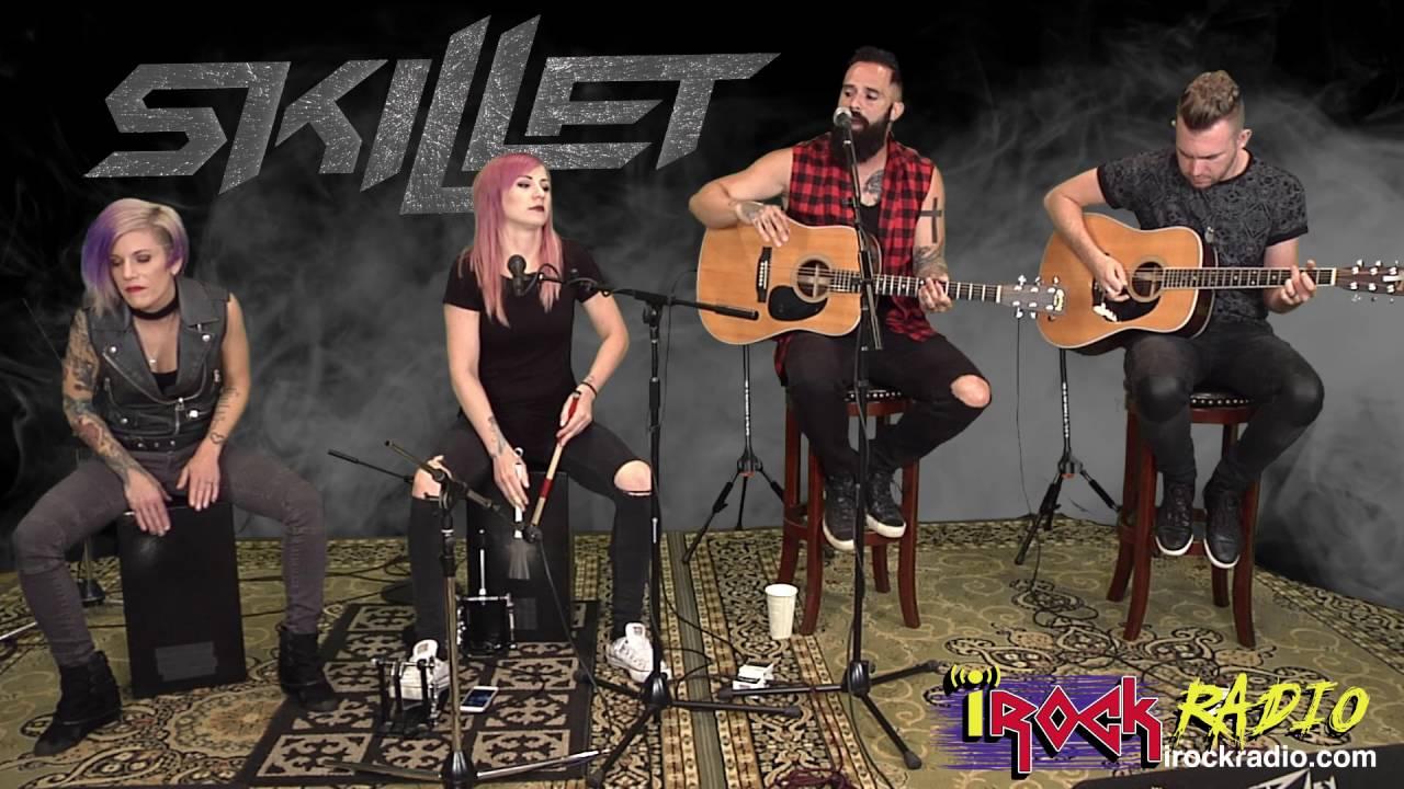 iRockRadio com - Skillet (Acoustic) - Feel Invincible