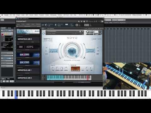 Novo by Heavyocity  Part 1.  Strings, string designer, and string loop designer.