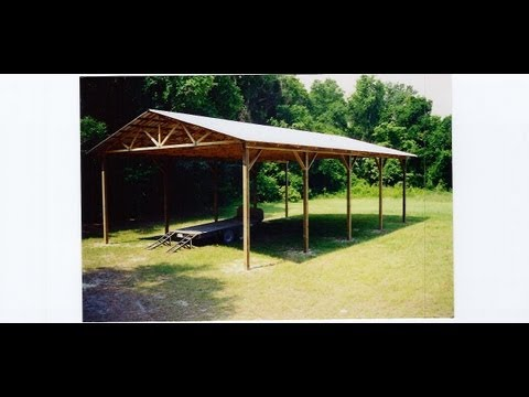 Square And Layout Pole Building Wood Truss Building
