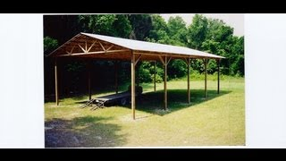 1 Of 13 Square And Layout Pole Building - Wood Truss Building Construction.
