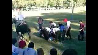 FREDY GATICA jinetiando en América 15/12/2013