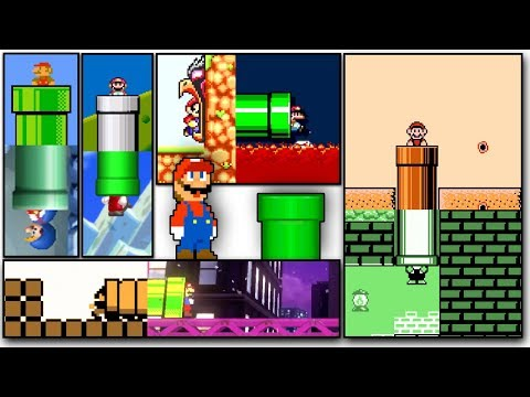 Super Mario Bros. But Every Pipe Is A Different Game!
