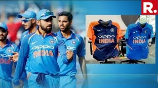 Opposition Gives Indian Cricket Team's Orange Jersey A Communal Colour
