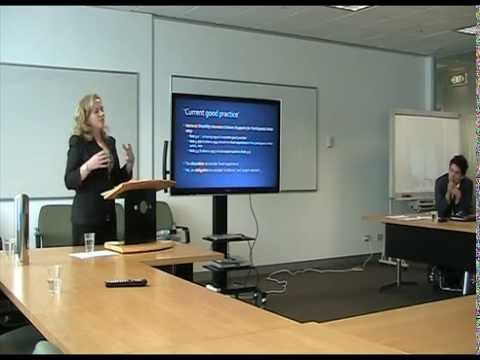 Disability Human Rights Clinic Presentation To Administrative Appeals Tribunal