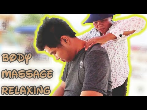 White Hair Plucking and Body Massage by Cambodian Lady | ASMR Travel #4
