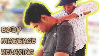 White Hair Plucking and Body Massage by Cambodian Lady   ASMR Travel #4