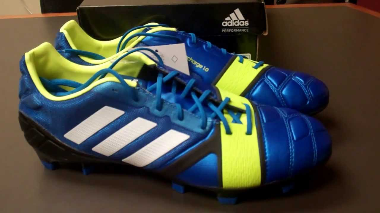 adidas nitrocharge 1 0 unboxing and on foot review youtube. Black Bedroom Furniture Sets. Home Design Ideas