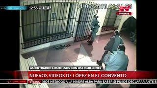 Nuevo video de López en el convento. Para el fiscal las monjas son cómplices - 13/07/16
