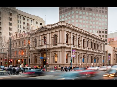 Adelaide South Australia - City Centre. HD