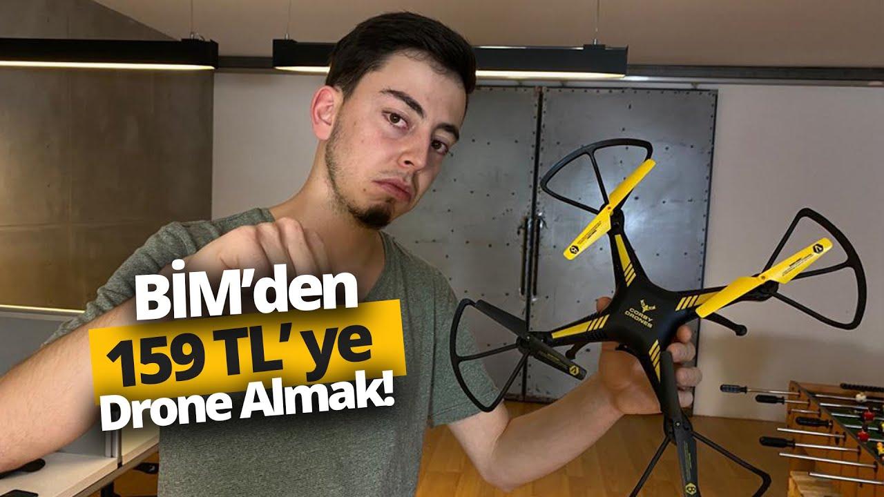 BİM'den 159 TL'ye drone alırsanız ne olur? Corby CX008 inceleme
