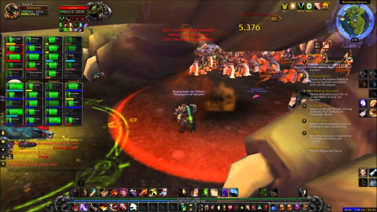 World of Warcraft: Mist of Pandaria World Boss Galleon ...