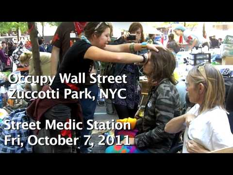 Peaceful Demonstrator Brutalized by Police at Occupy Wall Street, NYC Receives Medical Evaluation