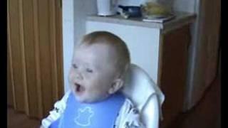 Baby Laughing Hahaha German Baby