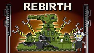 Rebirth of the Soviet monster KV44 - 2020 Cartoons about tanks
