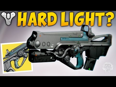 Destiny: IS THIS WEAPON ANY GOOD? Hard Light Exotic Auto Rifle Review & Gameplay (Rise of Iron)