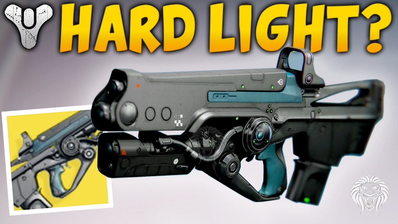 Destiny IS THIS WEAPON ANY GOOD Hard Light Exotic Auto Rifle Review Gameplay Rise Of Iron