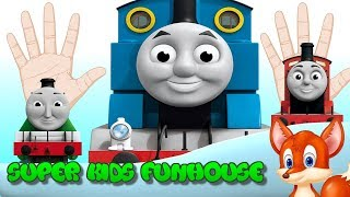 Learn Colors With Thomas And Friends Finger Family Nursery Rhyme