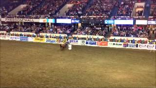Women Barrel Racing with Oxmoor Chrysler Dodge Jeep Ram in the Ring!