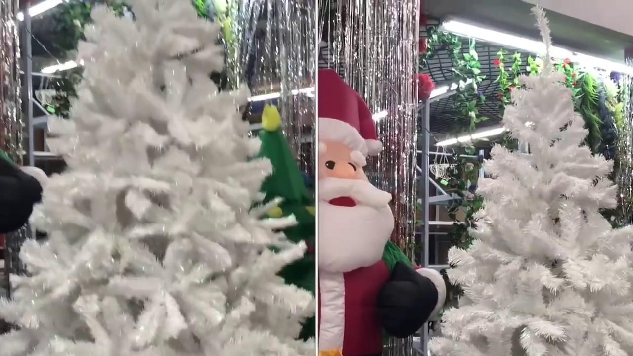 Decoracion arbol de navidad en blanco y rojo youtube - Decoracion arbol de navidad blanco ...