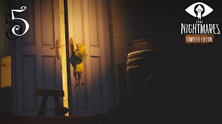 Little Nightmares прохождение на геймпаде часть 5 Побег из каннибал-цеха