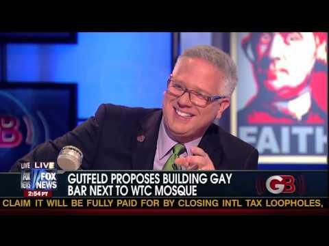 Greg Gutfeld Explains His Gay Bar Proposal to Glenn Beck!