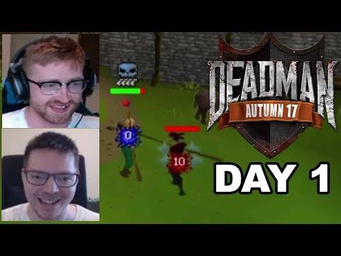 Deadman Mode $20,000 Tournament Pking (DAY 1) - Ft. B0aty & Monni
