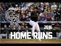Carlos Gonzalez | 2016 Home Runs