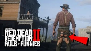Red Dead Redemption 2 - Fails & Funnies #12 (Random & Funny Moments)