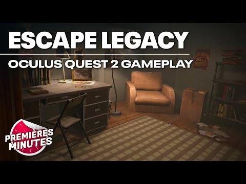 Escape Legacy - Gameplay Oculus Quest | Quest 2