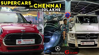 Supercars at Cheaper rate in Chennai - G Wagon 🔥 - Car Hunt | Irfan's View