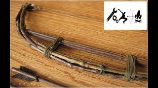 Как сделать лук из палок