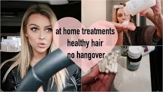At Home Hair Treatments, Pills to Avoid Hangovers   Mel Weekly #17