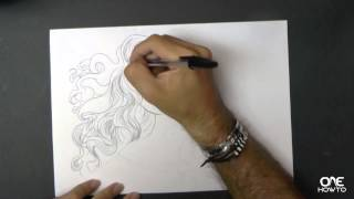 How to draw Merida from Brave