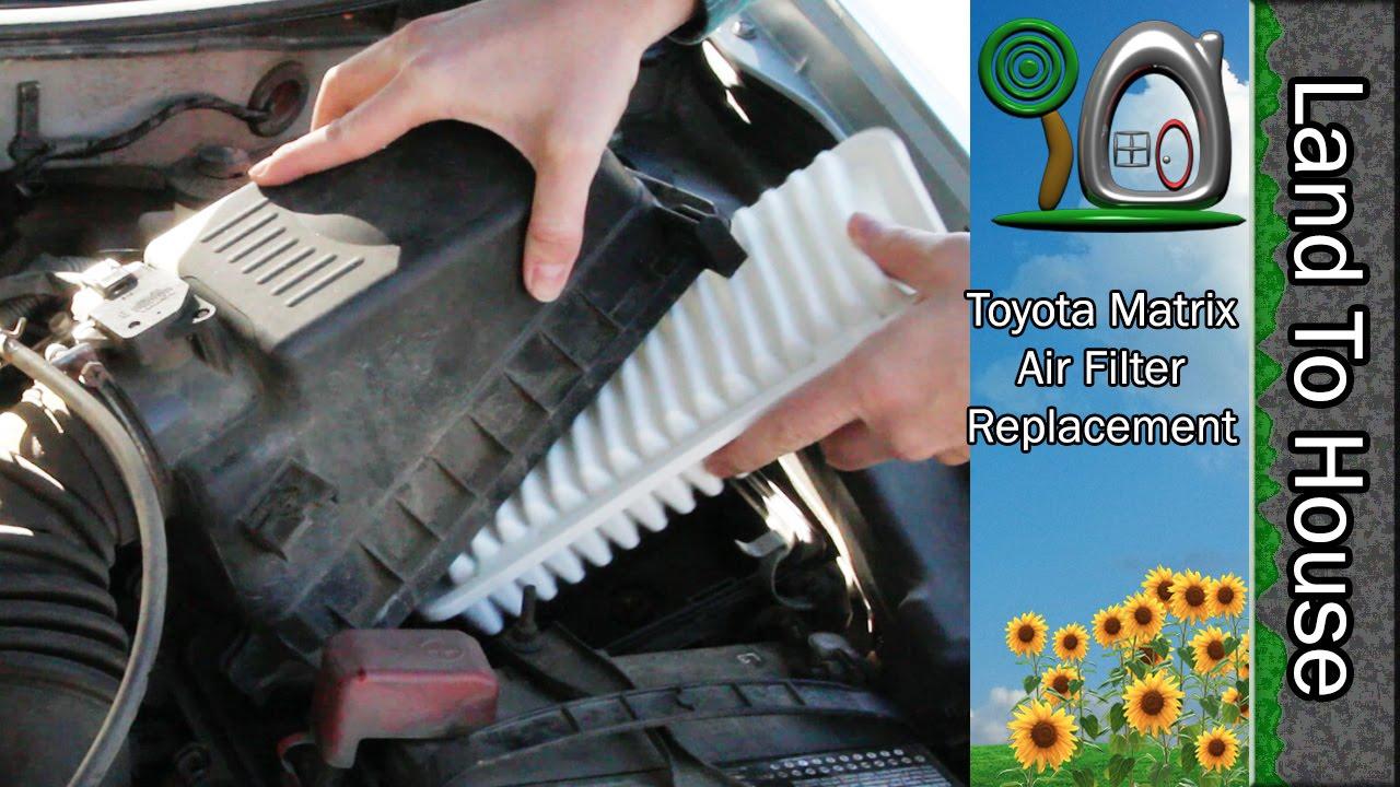 TOYOTA ENGINE AIR FILTER FOR TOYOTA MATRIX 1.8L ENGINE 2003-2008